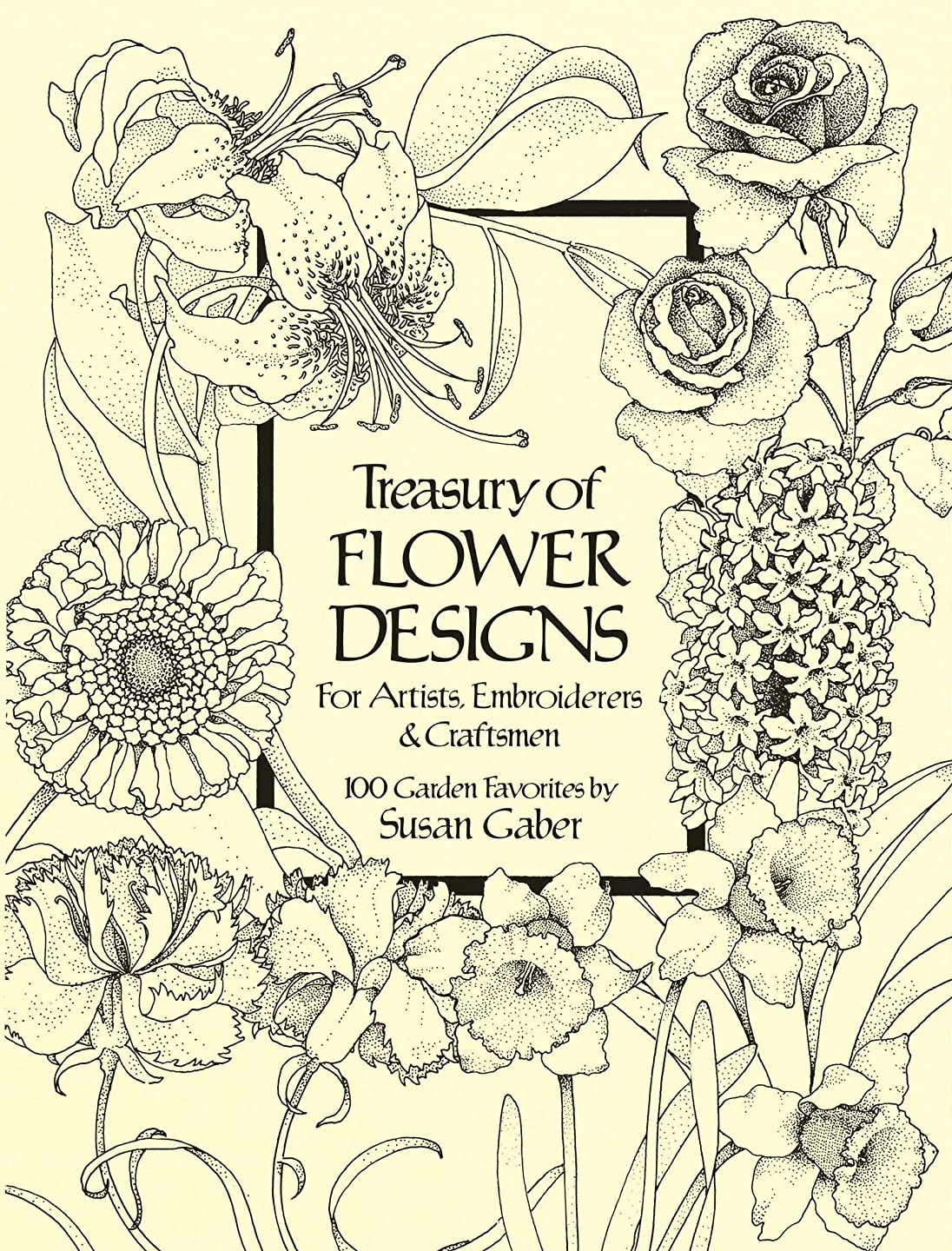 三十から平凡Treasury of Flower Designs for Artists, Embroiderers and Craftsmen (Dover Pictorial Archive) (English Edition)