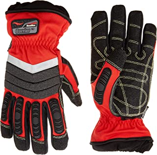 (X-Large/11) - Cestus HM Barrier R - 4032 XL Extrication Glove, X-Large/11, Red, Pair