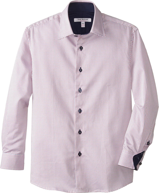 Isaac Mizrahi Big Boys' Boy's Polka Dot Shirt