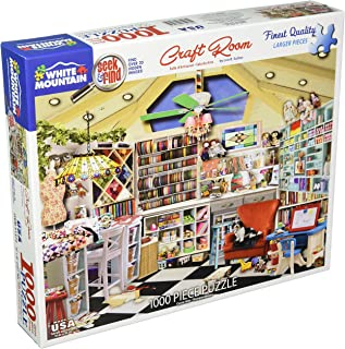 White Mountain Puzzles Craft Room - 1000 Piece Jigsaw Puzzle