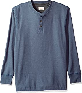Authentics Men's Long Sleeve Waffle Henley