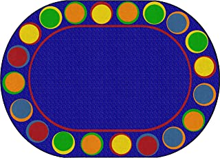 Best oval classroom rug Reviews