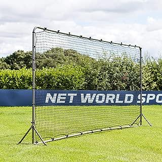 Forza Soccer Rebound Wall (12ft x 6ft 16ft x 7ft) – Dual-Sided Soccer Rebounder | Freestanding Spring-Loaded Soccer Rebound Net [Net World Sports]