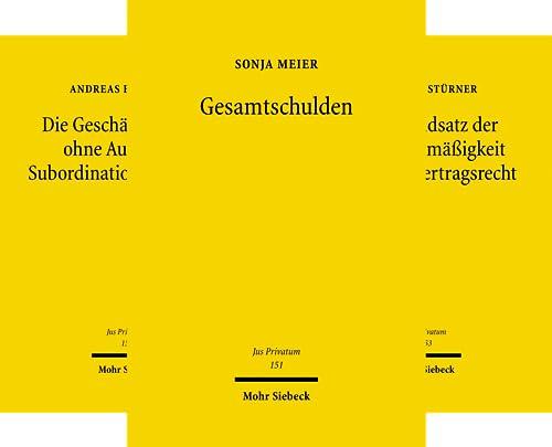 Jus Privatum (151-198) (Reihe in 48 Bänden)