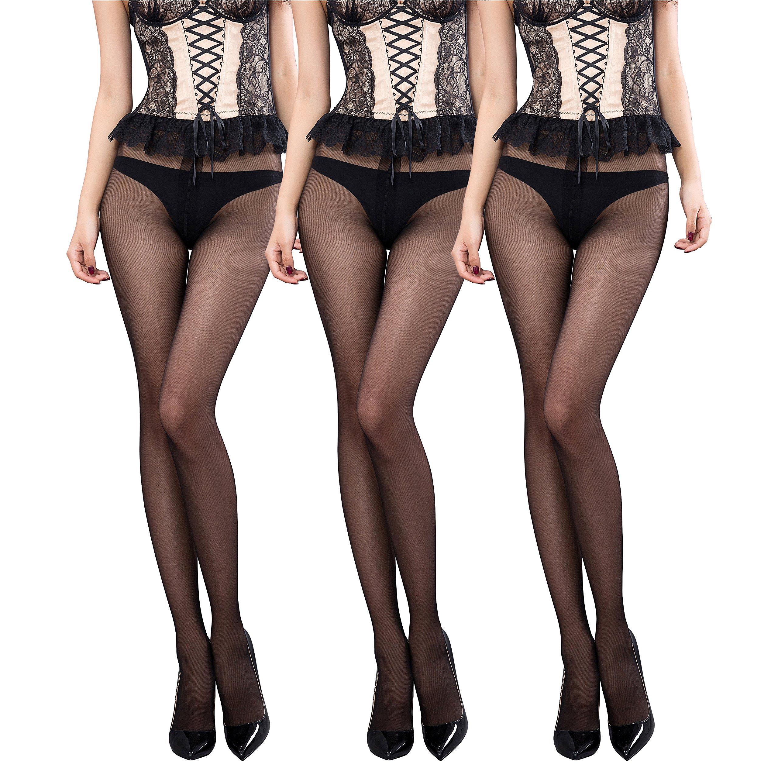Pantyhose Stockings Length Reinforced Crotch