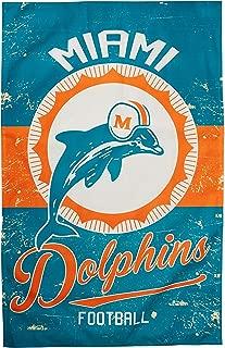 NFL Vintage Linen Flag