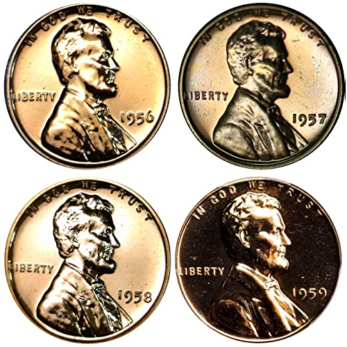 Lot of 31 S Lincoln Cents 1968 to 1979 P D BU in Mint Wrap