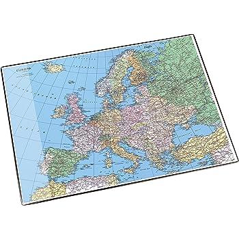 64 x 44 cm 9709935794558 Schreibtischunterlage Europa physisch//politisch