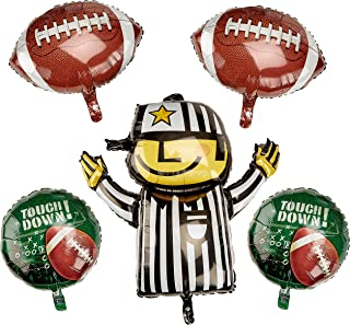 Anagram International 53619 BOUQUET FOOTBALL, One size, Multicolor