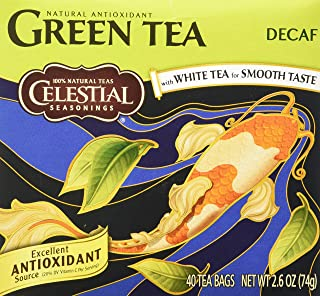 Celestial Seasonings Decaf Green Tea Bags - 40 ct