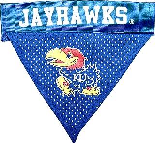 طوق باندانا بشعار فريق كنساس جايهوكس بالرابطة الوطنية لرياضة الجامعات (NCAA) من بت جودز، مقاس واحد