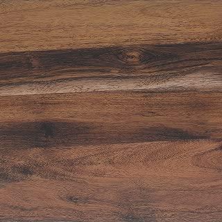 Klebefolie Perfect Fix Eiche Rustikal Dekofolie Möbelfolie Tapeten selbstklebende Folie, PVC, ohne Phthalate, keine Luftblasen, Natur-Holzoptik braun, 45cm x 2m, Stärke: 0,15 mm, Venilia 53335