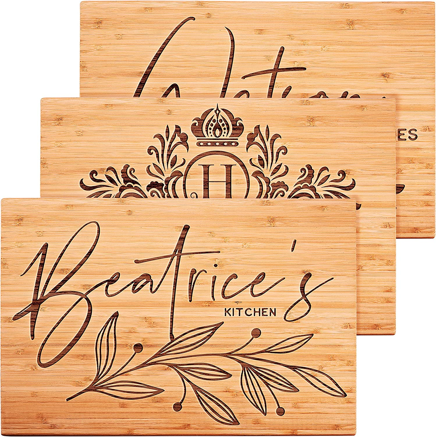 Personalized Cutting Board 15 Designs - Mothers Gifts Anni Day Ranking TOP1 Kansas City Mall