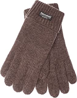 EEM Men`s Knitted Gloves LASSE with Thinsulate thermal lining
