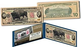 1901 bison note