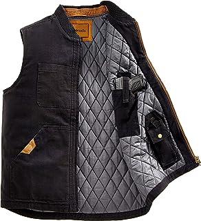 Venado Concealed Carry Vest for Men - Heavy Duty Canvas - Conceal Carry Pockets