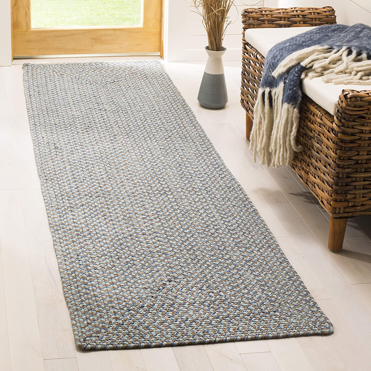 Safavieh Braided Collection BRD170A New arrival New Free Shipping Cottage Handmade Rev Country