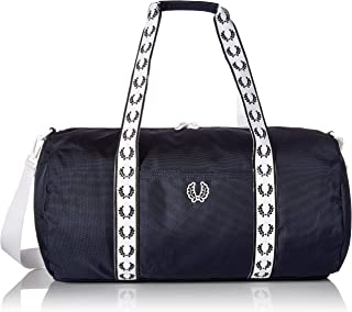 fred perry barrel bag size