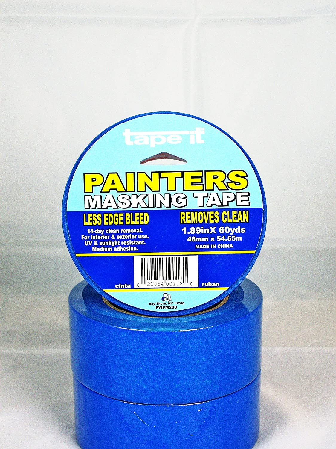 Tape-It PWPM200 Blue Painter's Masking Tape 1.89in x 60yds, (Case of 24)