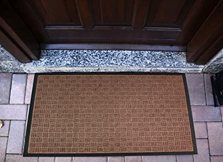 3 x 6 Americo Manufacturing 6304036 Front Runner Vinyl Loop Outdoor Entrance Matting Brown 3/' x 6/'
