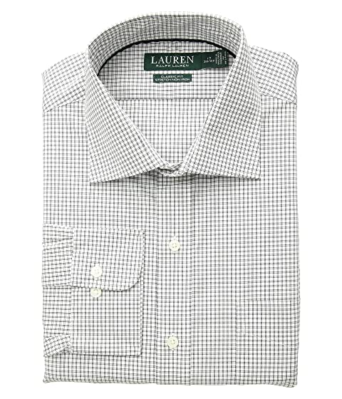 6ddc751c44f LAUREN Ralph Lauren Classic Fit Non Iron Stretch Poplin Dress Shirt ...
