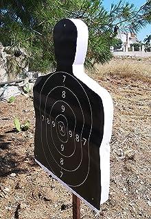 Bersaglio con sagoma in polistirolo HD 39×26cm per pistola softair e arco con stampe intercambiabili A3