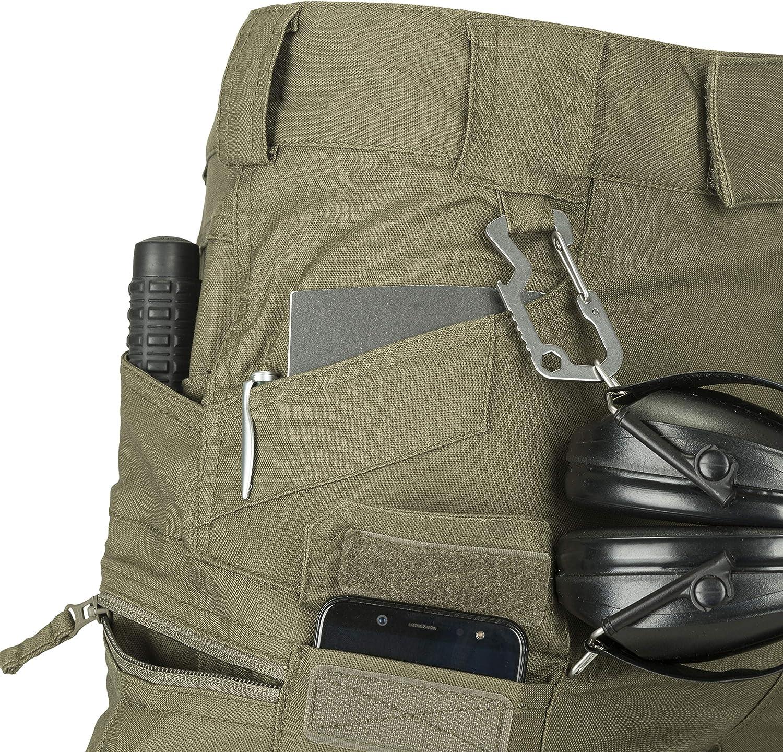 Helikon-Tex SP-utl-PC Pantalon Tactique Mixte Adulte Gris Ombre
