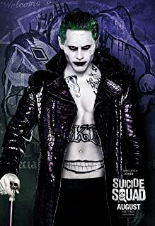 Suicide Squad Movie Poster Limited Print Photo Will Smith Margot Robbie Jared Leto Size 8x10 #3