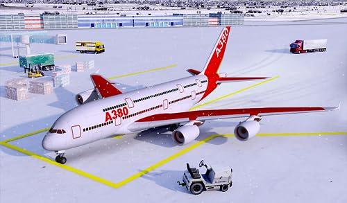 『Snow Cargo Jet Landing 3D』の1枚目の画像