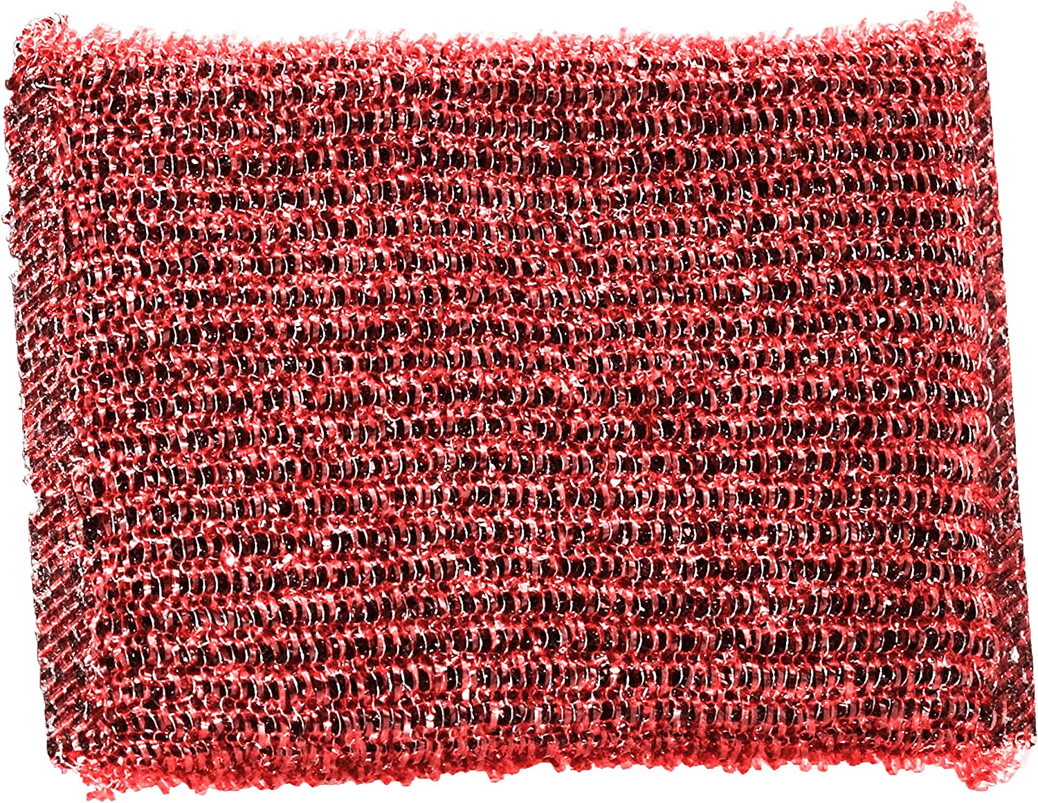 Meat Red Shabbos Scouring Mail order Pad - Col Limited Special Price Through Scrub Tough Stains