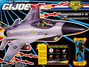 G.I. Joe A Real American Hero Battle Corps Ghoststriker X-16 Combat Jet with Ace Action Figure