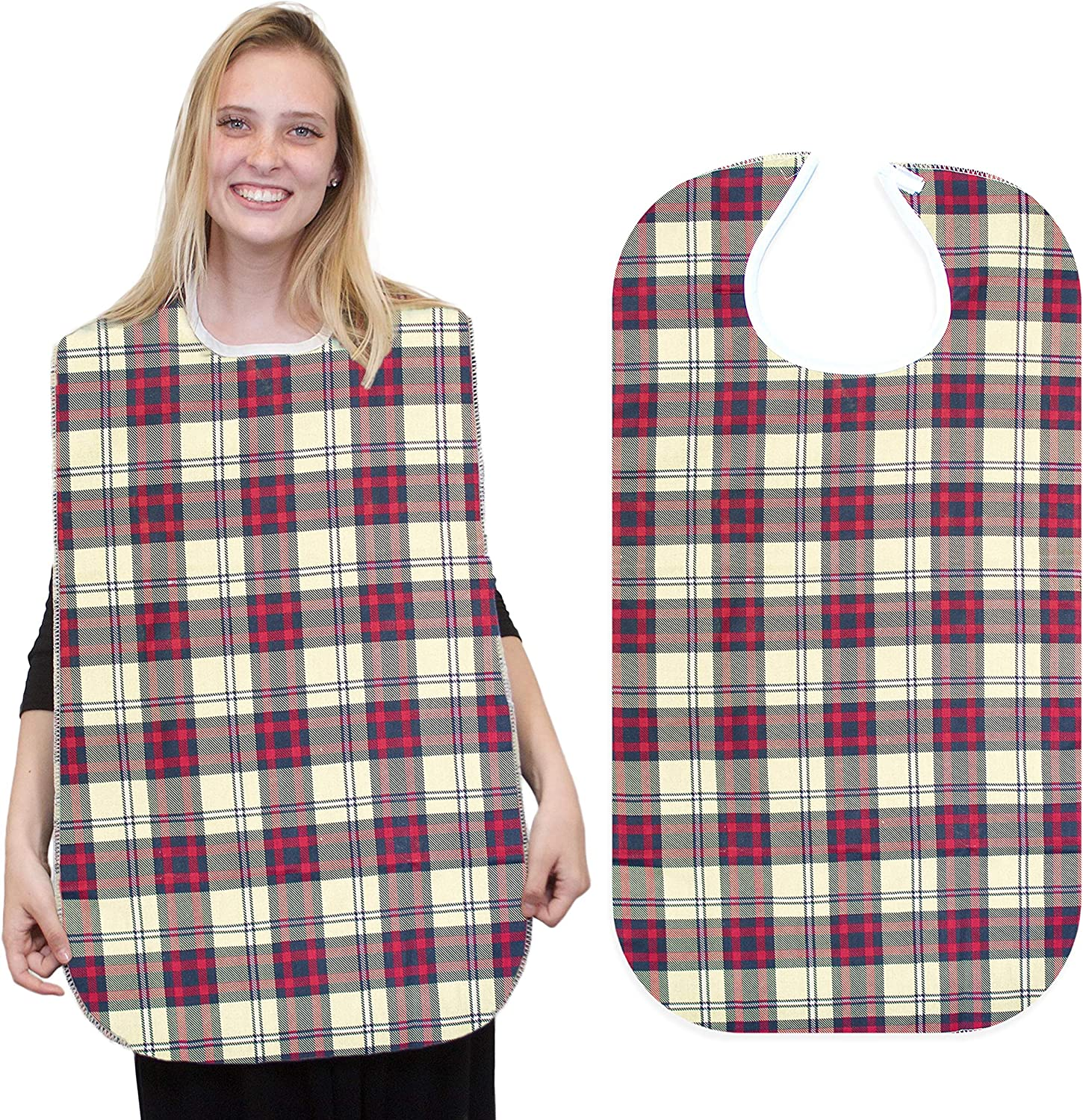 RMS Reusable Washable Waterproof Adult wi Protector Bib Clothing trend rank Challenge the lowest price of Japan