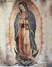 Colors of Mexico Virgen De Guadalupe .Authorized copy of Our Lady of Guadalupe Small Print