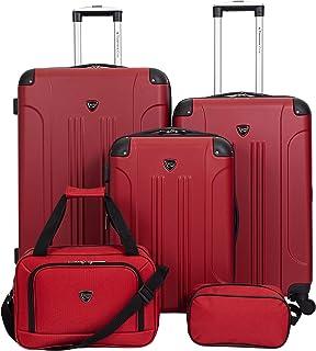 Travelers Club Sky+, Red, 5 Piece Set