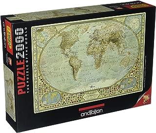 Anatolian 2000Piece Jigsaw Puzzle - World Map Jigsaw Puzzle