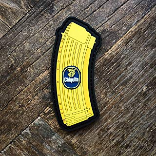 NEO Tactical Gear Chiquita Banana Clip PVC Rubber Morale Patch – Hook Backed with Loop Attachment Piece That Can Be Sewn On