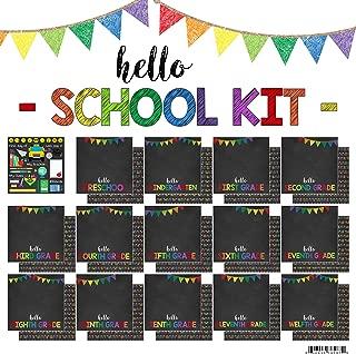 Scrapbook Customs Hello School Paper Pack Scrapbook Kit