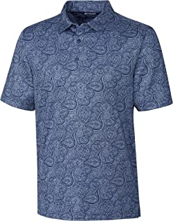Cutter Men's Forge Paisley Heather Print Polo