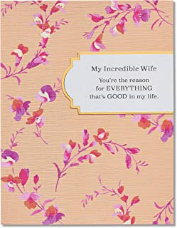 American Greetings Everything That's Good Mother's Day Greeting Card for Wife with Foil