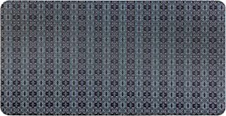 """20""""x39"""" Forever Woven Cushioned Anti-Fatigue Kitchen Mat (Dark Gray)"""