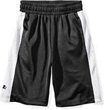 white shorts with black stripes