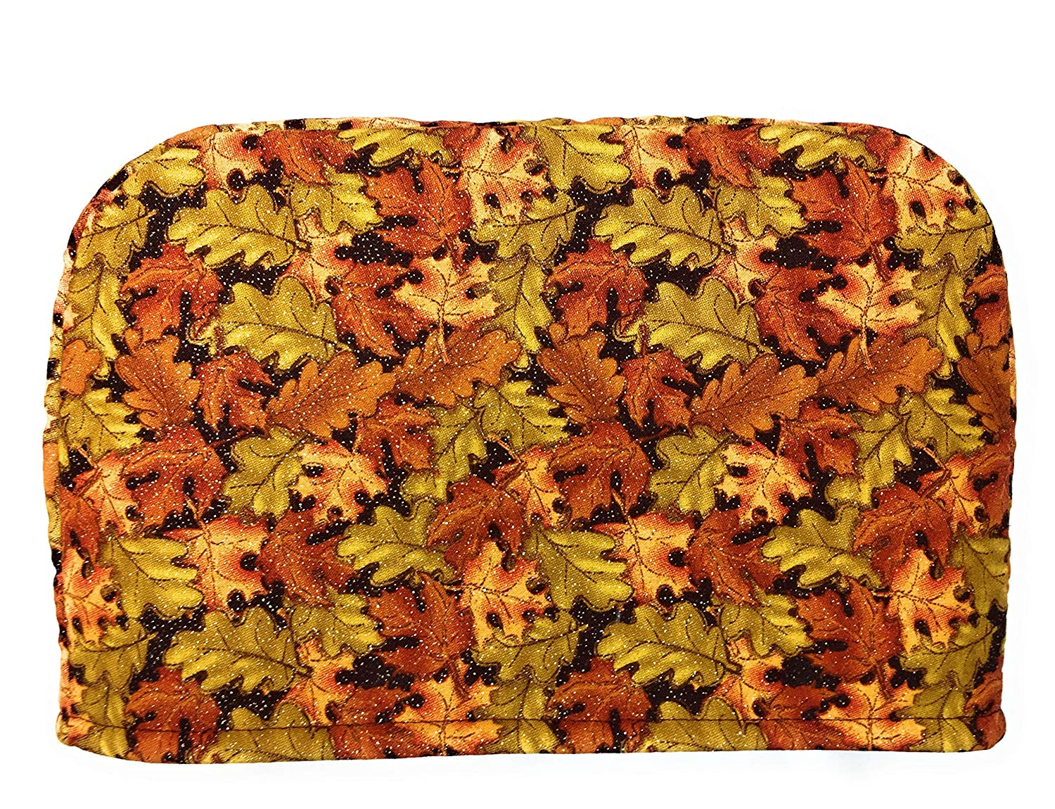 4 Slice Slot - Fall Autumn Maple Leaves Red Sage w Gorgeous Orange Yellow Super sale period limited
