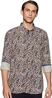 Allen Solly Men's Printed Slim Fit Casual Shirt