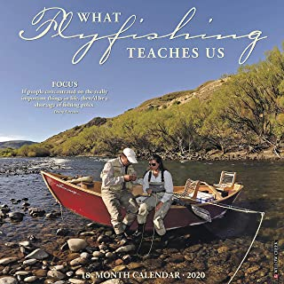 What Fly Fishing Teaches Us 2020 Wall Calendar