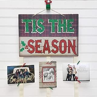 Christmas Card Holder - Tis The Season