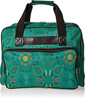 Janome Bolsa sacola universal para máquina de costura Paisley, lona