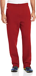 Russell Athletic Men's Dri-Power Open Bottom Sweatpants Pockets