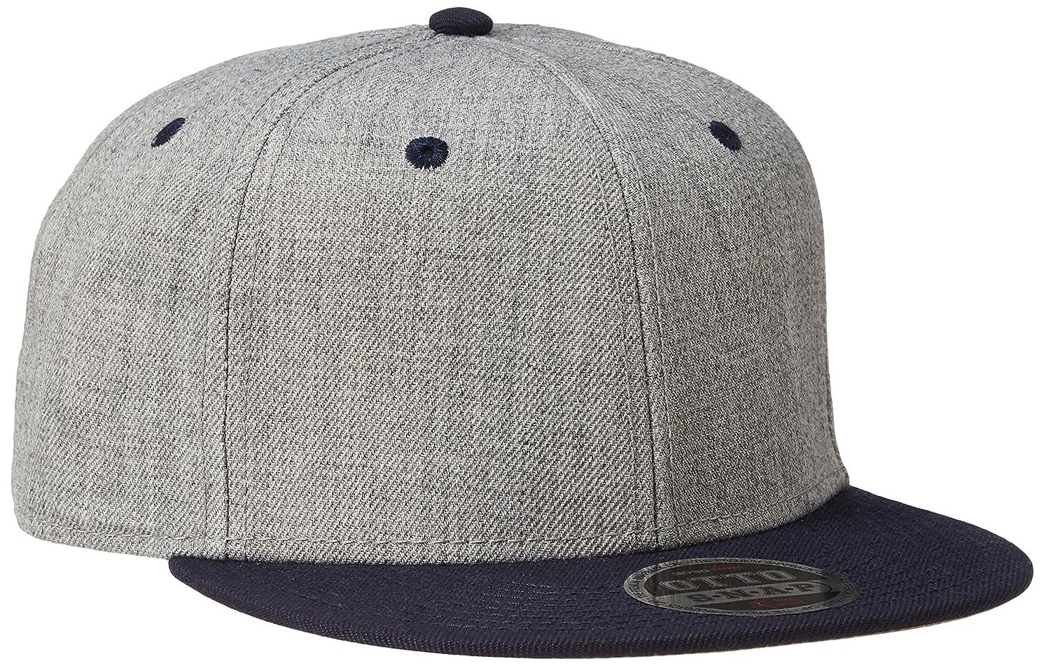 宴会鯨ポルティコOTTO CAP/Heather Wool Snapback Caps(オットーキャップ/ヘザーウールスナップバックキャップ)