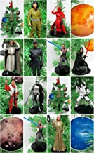 Star Wars THE LAST JEDI 13 Piece Christmas Tree Ornament Set Featuring Planet Ornaments, Rey, Kylo Ren, Luke Skywalker, Finn Poe Dameron, Rose, First Order Judicial Stormtrooper & More