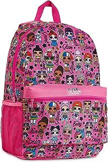 L.O.L. Surprise! Mochila Niña Rosa con Muñecas LOL OMG, Mochilas Escolares Juveniles, Bolsa Infantil Guarderia, Accesorios...